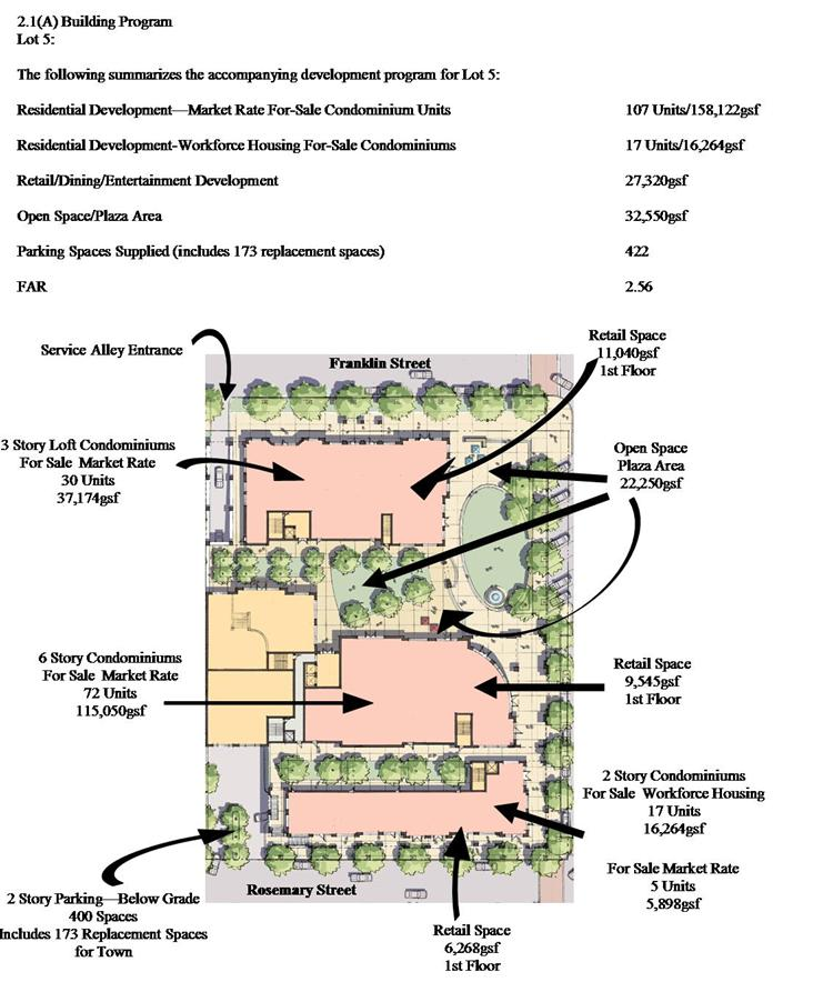 1 3 1 Parking Lot 5 Building Program